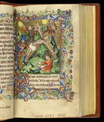 Christ Being Nailed To The Cross, In 'The Hamelden Hours'
